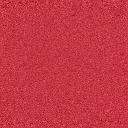 DOLCI SOGNI Tessuto Ecopelle Finta Pelle al Metro Altezza 140 CM per SEDIE DIVANI O Esterni Colore Rosso