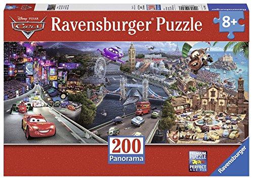 Ravensburger Italy Disney Cars Panorama Puzzle, 200 Pezzi, 12645