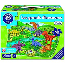 Orchard Toys–Dinosaurios puzzle 50piezas, 185