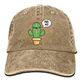 Gorra Cactus Marrón Claro Con Cactus Hug Me Unisex