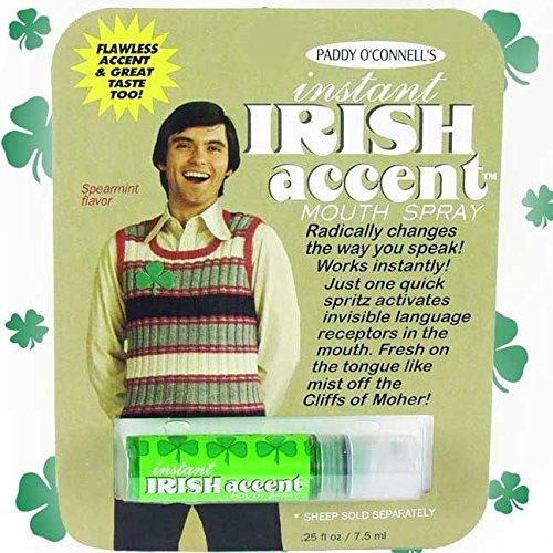 Instant Irish accent breath freshener 22