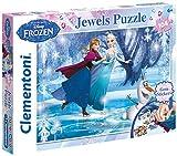 Disney Frozen - Puzzle 104 Piezas, con Joyas (Clementoni 206018)