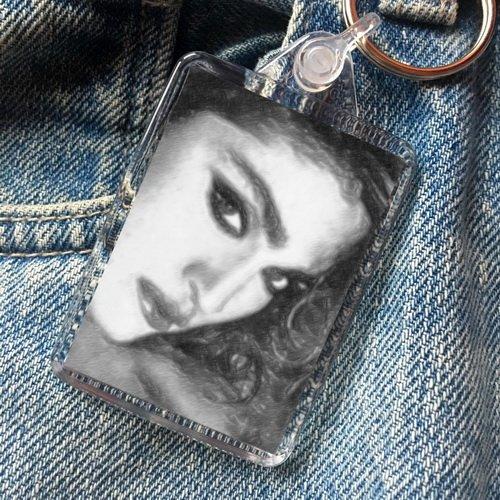 Madonna - Original Art Keyring #js004