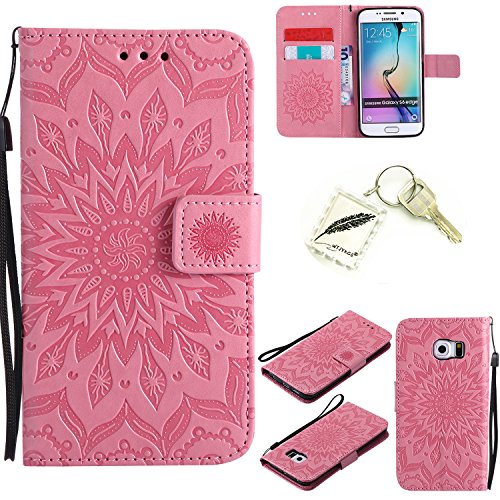 Silicone ultra-softshell PU Custodia per Samsung Galaxy S6EDGE (5,1pollici) Cover protettiva...