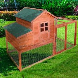 XXL Hühnerstall für Hühner und Hasen   Kleintier Käfig