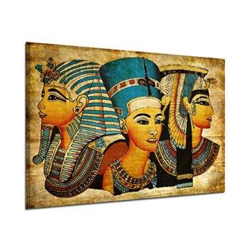 Arte de la Pared de la Lona,   Antiguo Egipcio Mural Completo de la Pintura al óleo 40 * 60Cm Egipto Pintura de la Pared Oil-Picture Completo de la Figura Pharaoh Home Decor 3