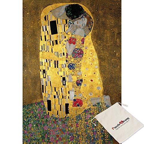 Puzzle Life Liebespaar il bacio - Gustav Klimt - 300 Piece Jigsaw Puzzle