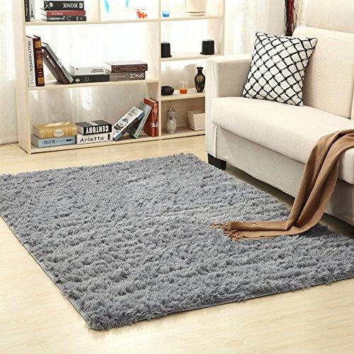 Tappeto morbido a pelo lungo, tappetino antiscivolo per asilo nido, camera da letto, soggiorno e...