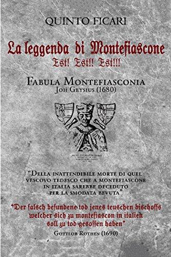 La leggenda di Montefiascone Est!  Est!!  Est!!!