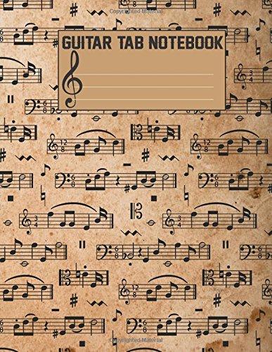 Guitar Tab Notebook: Blank Sheet Music for Guitar: Volume 4