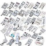ULTNICE SET Piedini per macchina da cucire professionale Cucito piedini domestico per le casalinghe (42pcs)