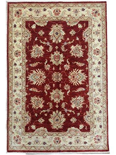 AD465 - Fatto a Mano Tappeto ZIEGLER Autentico India, Cm.174 x 120 - tappeti persiani e orientali
