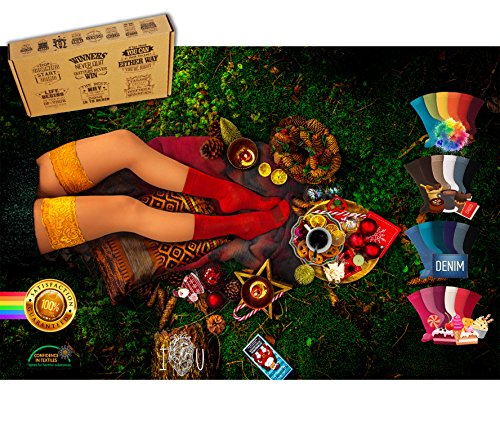 *NEU*[7+5 Paar.GRATIS.Versand] AirSox® Deluxe.BOX Made.in.EU | Herrensocken | Damensocken | 100% Organisch | Damit Deine Füße ATMEN | Sneaker Socken | Sportsocken | Business | Schwarz | Bunt | Weiß