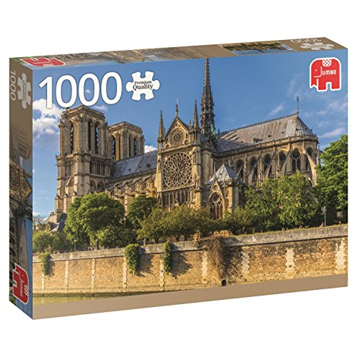 Premium Collection 18528 Notre Dame Paris Puzzle da 1000 Pezzi