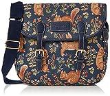 Bolso tapiz de hombro de moda Signare para mujer bolso messenger Vida en el bosque
