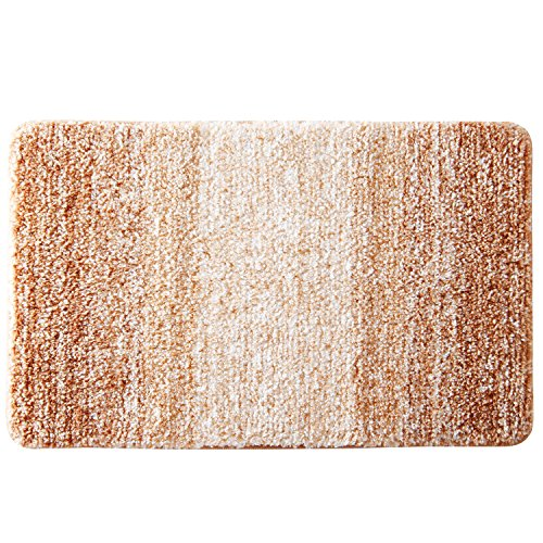 Furnily Tappetini per il bagno Microfibra Morbida Lavabile in Lavatrice Tappeto Antiscivolo 40x60 cm...