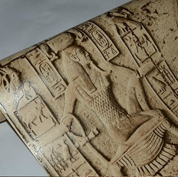 HEYUN& Egipto Modelo del papel pintado imitación talla personajes reales gráfico arte de la pared del cine y la televisión 6