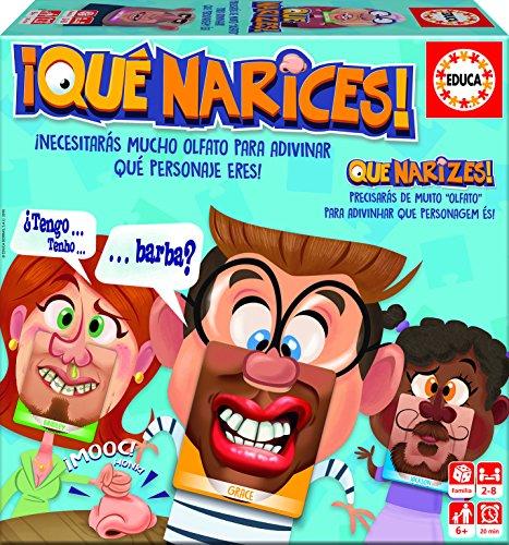 Educa Borrás - Qué Narices, juego de preguntas (16988)