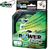 POWER PRO PP64R-135 mm m-0,10 POWER PRO-Hilo trenzado para pesca 135 m-bobina, diámetro: 0,10 mm