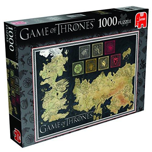 Game Of Thrones 19317 - Puzzle, 1000 Pezzi