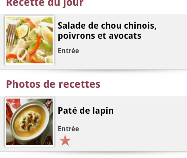 Cuisine Aufeminin Amazon Co Uk Appstore For Android