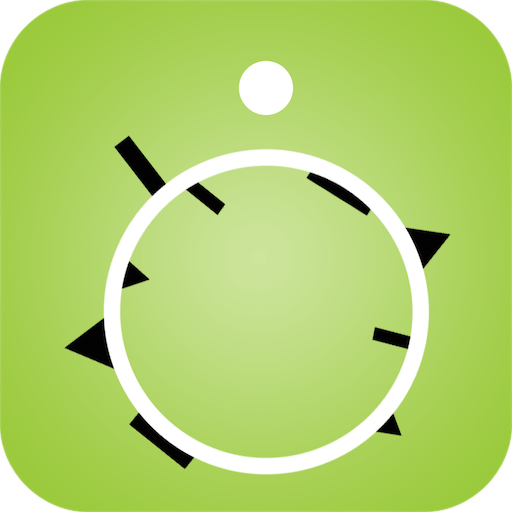 Spinny Crossy y de la torcedura del círculo de la rueda de laberinto divertido juego gratuito