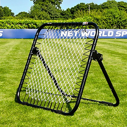 We like that the unit is stable and the net rebounds fantastically due to the high-quality springs. A lot of people may find this unit expensive but the quality is unparalleled. It will be in use for long and it lets your child practice different skills on it. It is easy to assemble, transport and store; all the important aspects you want in a football net.