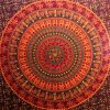 Camel Elephant Mandala Tapestry Hippie Tapestry Mandala Tapestry Wall Hanging Wall Decor Home Decor (Maroon) 5