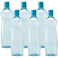 Milton Pacific 1000 Pet Bottles 6 Pcs Set, Blue Colour bottles