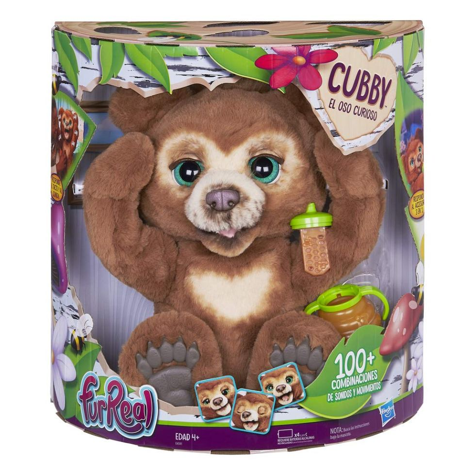 furReal-Friends-E4591EU5-Cubby-The-Curious-Bear-Interactive-Plush-Toy-Ages-4-and-Up-Multicolour