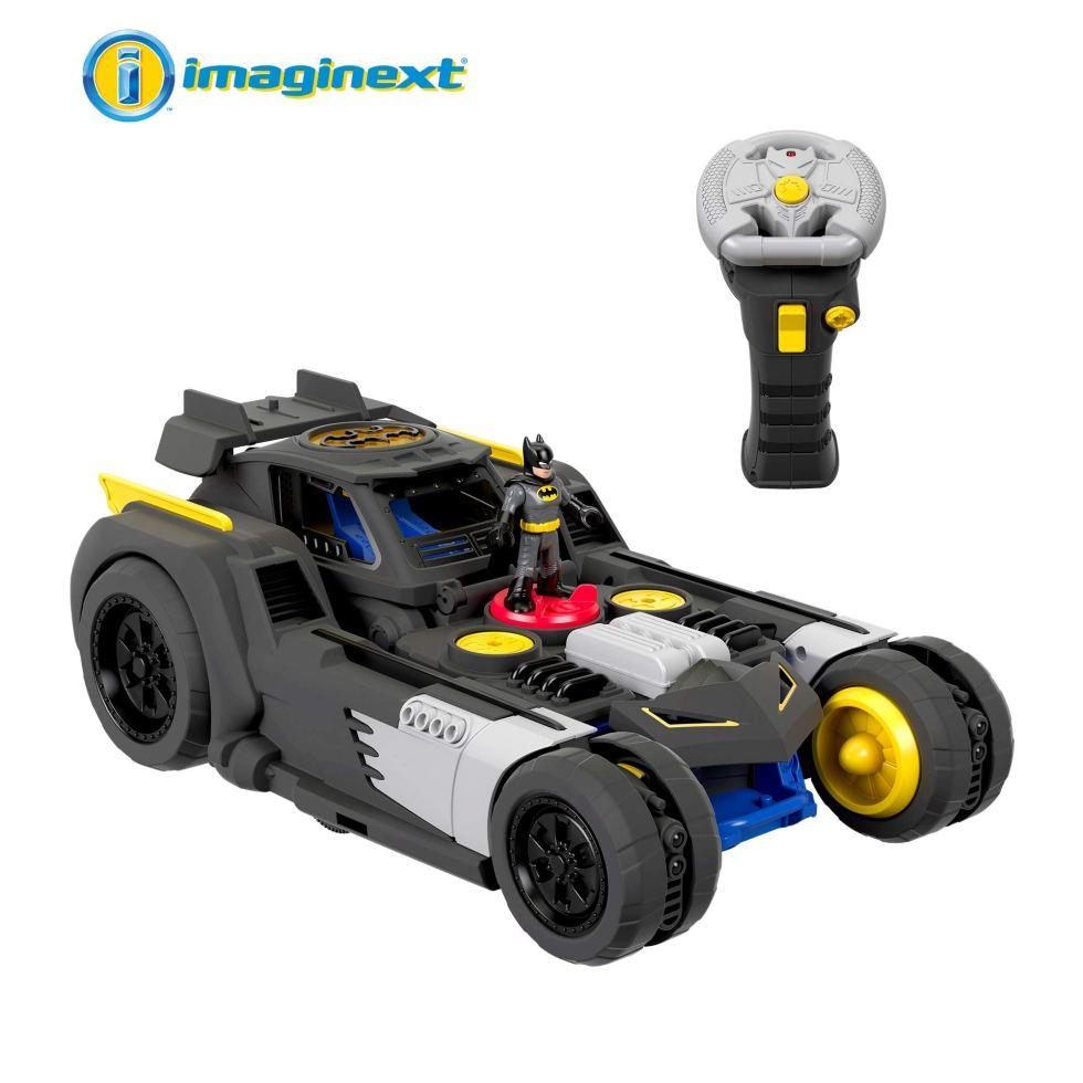 Fisher-Price-GBK77-Imaginext-DC-Super-Friends-Transforming-Batmobile-RC-Vehicle-Multicoloured