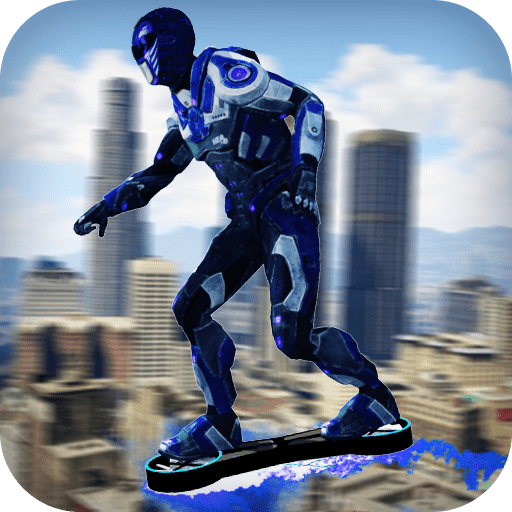Hoverboard Power Hero Rangers