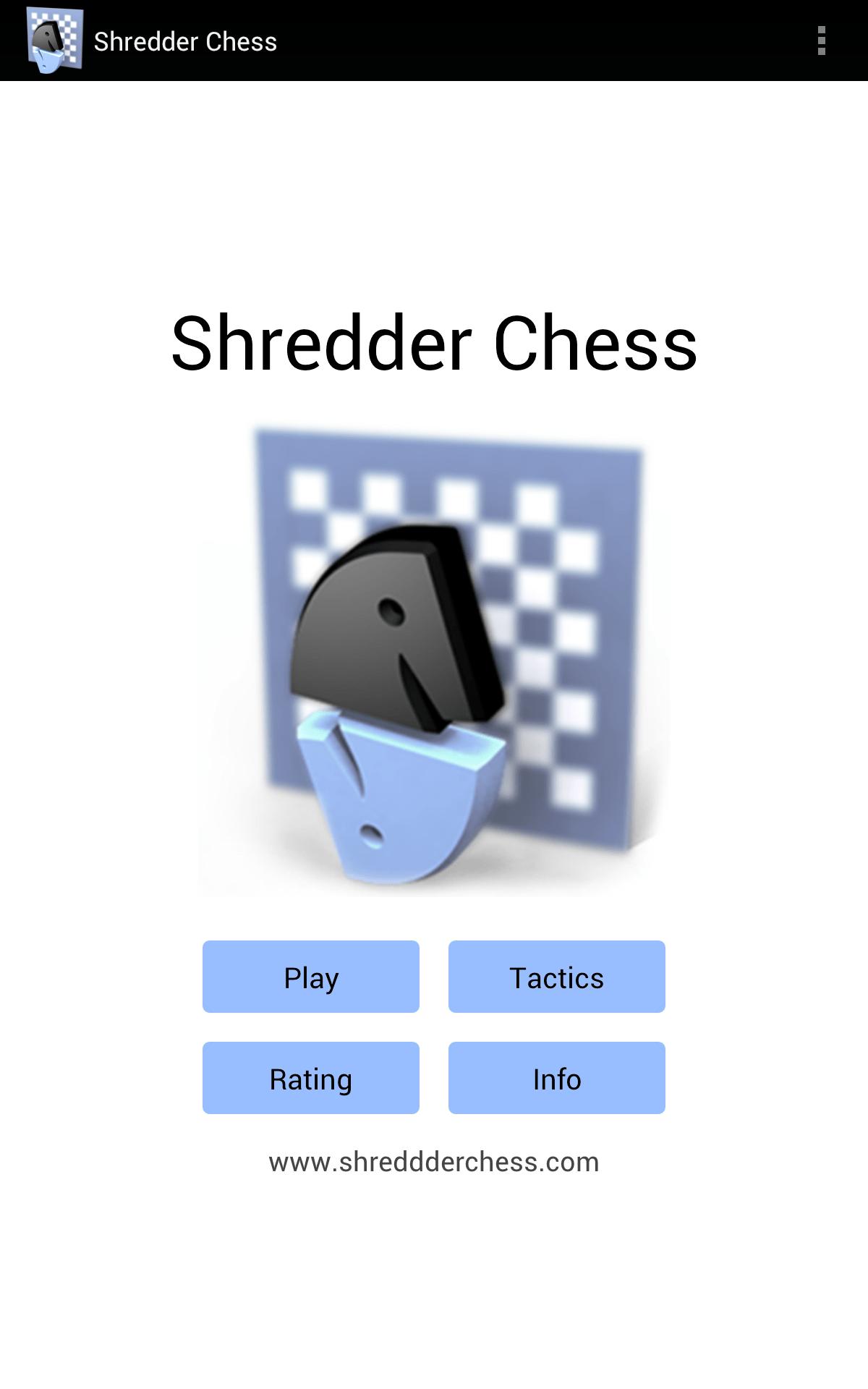 Shredder Schach Screenshot