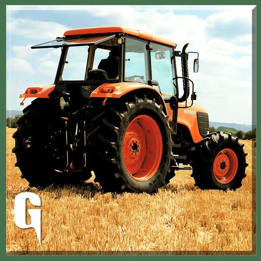 3D arado Tractor agricola
