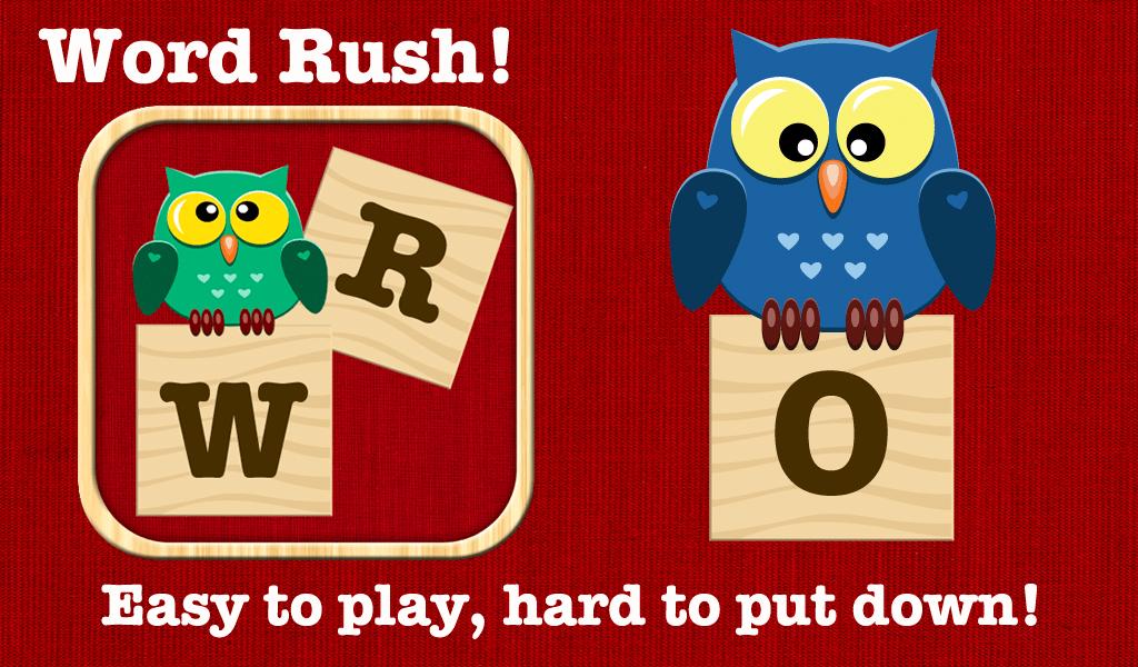 Word Rush! Screenshot
