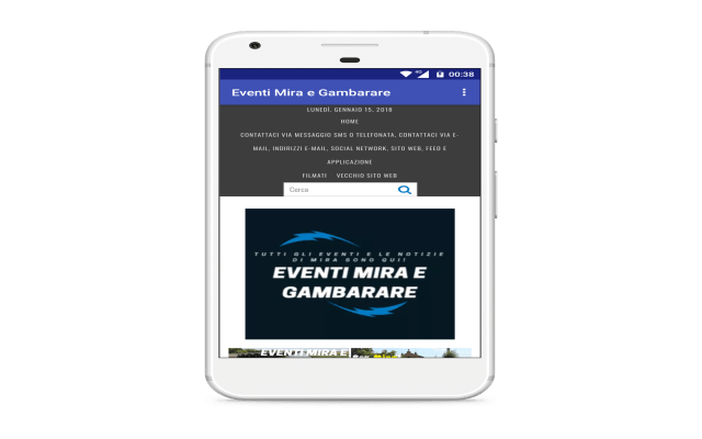 Eventi Mira e Gambarare Screenshot