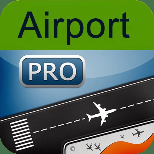 Flughafen Pro - Echtzeitstatus von Abflug und Ankunftszeiten
