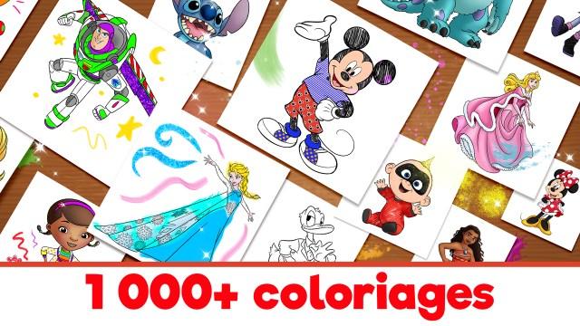 Monde de coloriage Disney : Amazon.fr: Applis et Jeux