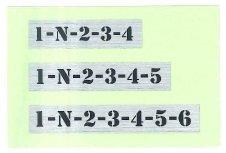 東洋マーク製作所ステッカー品番 3492品名バイク用シフトパターン商品サイズ80mm × 10mm × 1mm  JANコード4986734...