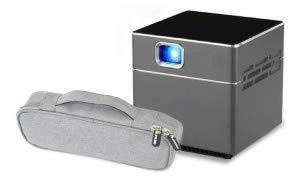 miniプロジェクター Pico Cube ピコキューブ 収納ポーチ付き ワイヤレス wifi 接続 三脚付 リモコン付 S6 PSE 技適認証済