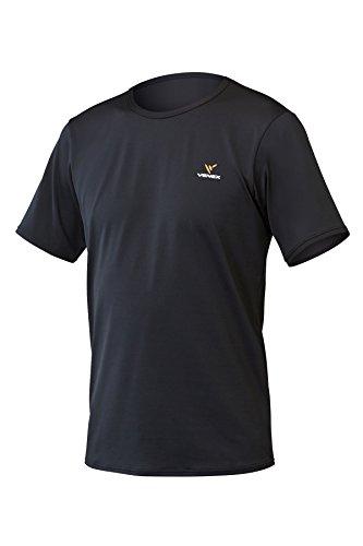 VENEX  ( ベネクス ) リカバリーウェア リフレッシュTシャツ メンズ ブラック M インナー Tシャツ 半袖 パジャマ