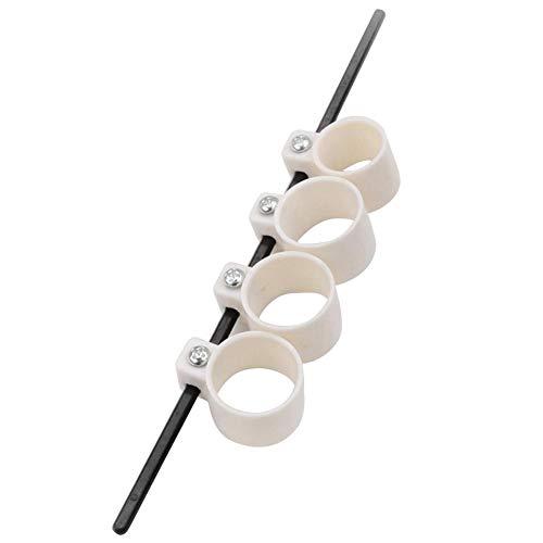 Runcircle ギター フィンガートレーナー 指拡張スリーブ 指間 広げる 指練習 強化 指間距離 調節可能 指 鍛える ギタートレーニング ピアノ ギター 練習 器具 (L, 調節可能) ギタリストは指の筋肉を鍛えるオススメの方法!指も広げてストレッチフレーズが楽に!