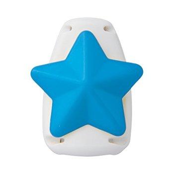 ソニック キッズクリップ 星 ブルー 服に穴が開かない名札留め