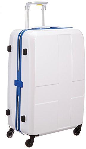 [イノベーター] innovator スーツケース 63cm 70L 3.6kg TSAロック付 2年保証 サイレントキャスター ジッパー開閉 INV63 BRIGHT WHITE (ホワイト)
