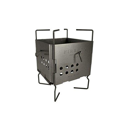 FIREBOX (ファイヤーボックス) GEN2 ナノストーブ ステンレス ウッドストーブ 3インチ 【日本正規品】