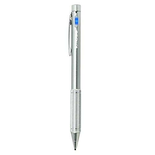 STARDUST マインドタッチ スタイラスペン 極細ペン先 1.45mm USB充電式 タッチペン スマホ スマートフォン タブレット iPhone Android アクセサリー シルバー SD-DTYA5-SV