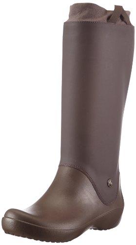 [クロックス] レインフロー ブーツ ウィメン 12424 espresso/espresso W5(21.0cm)