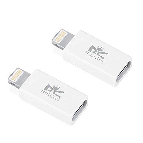 【2個セット】RoiCiel USB-C & Lightning変換アダプタ (Type-C USB → ライトニング変換アダプタ/iPhone iPa...