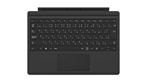 マイクロソフト Surface Pro [サーフェスプロ] タイプ カバー (指紋認証センサー付き)ブラック