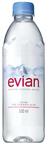 伊藤園 Evian(エビアン) ミネラルウォーター 500ml [正規輸入品]×24本
